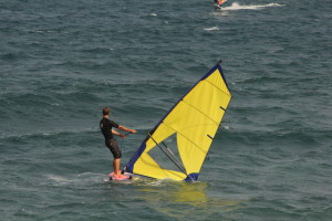 Windsurfing is easy