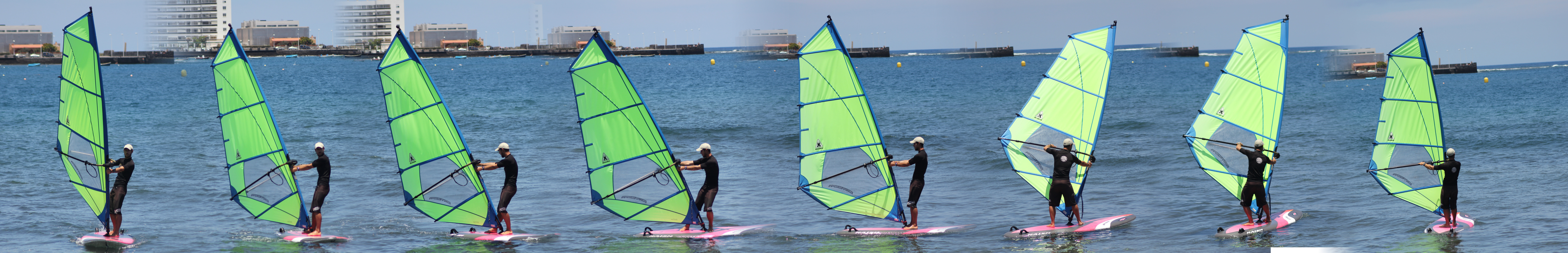 How to Windsurf - Tacking sequence