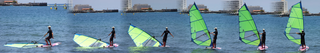 How to Windsurf - Uphaul sequence