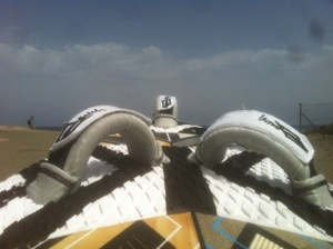 How to Windsurf in the Footstraps
