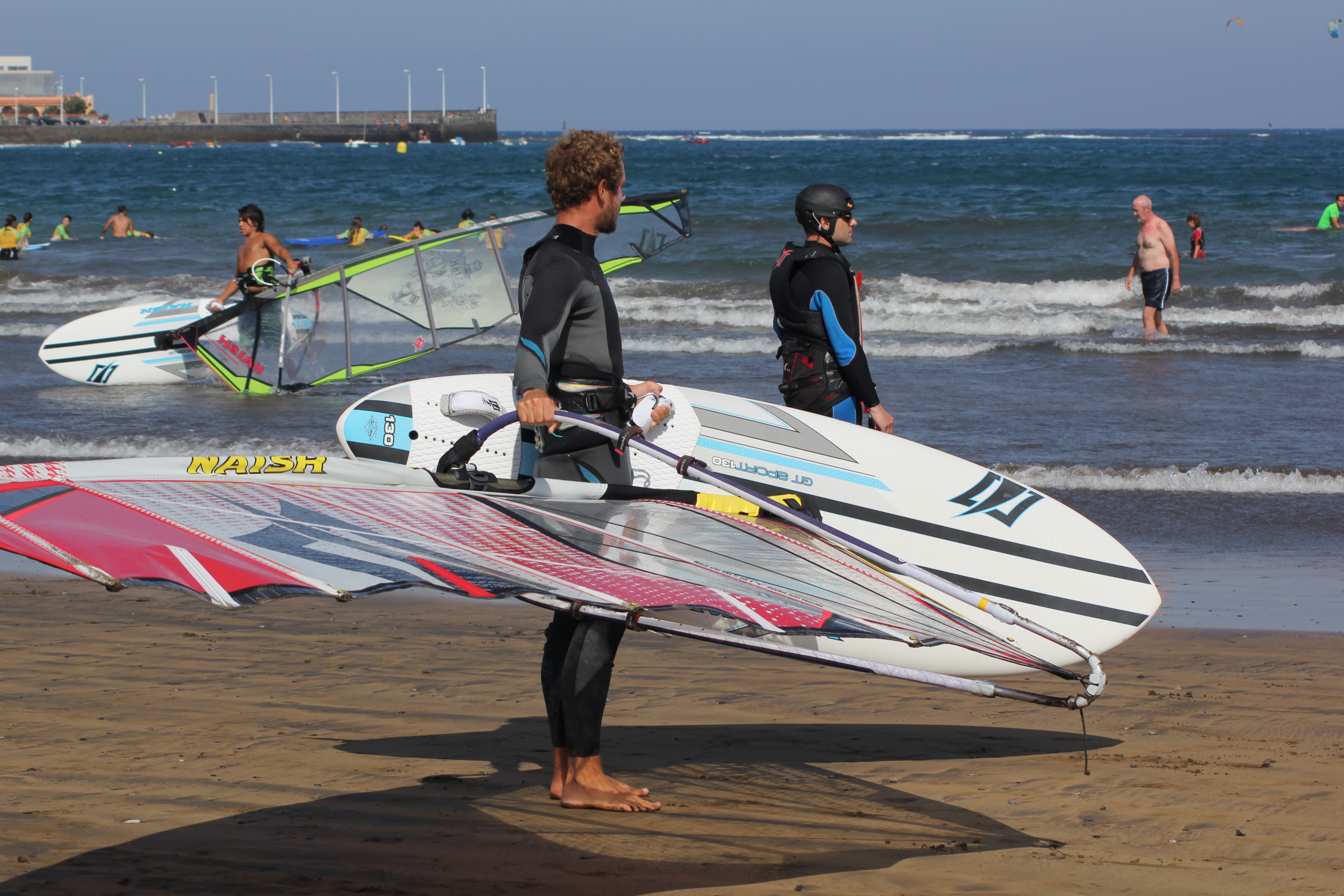 How to carry the Windsurfing Gear