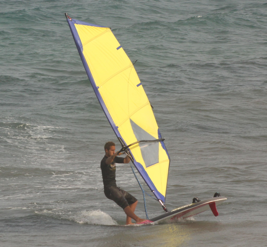 Fin First Windsurfing