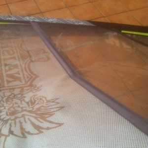 broken windsurf batten