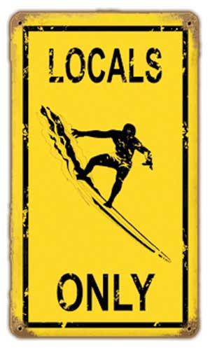 Localism sign