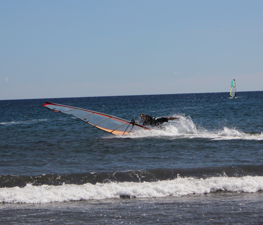 Windsurfing Catapult