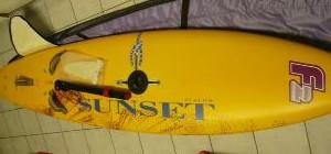 Sunset Slalom Windsurf Board