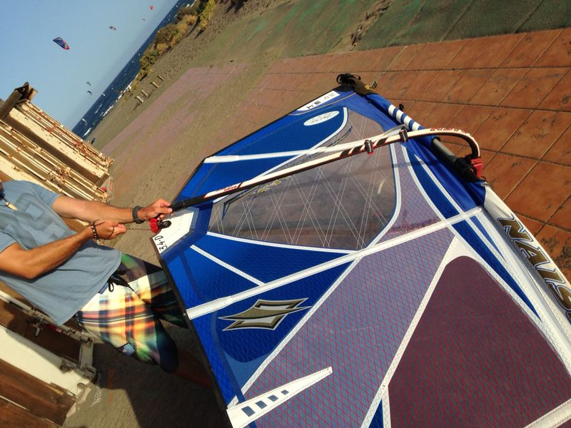 How to Rig a Windsurf Sail