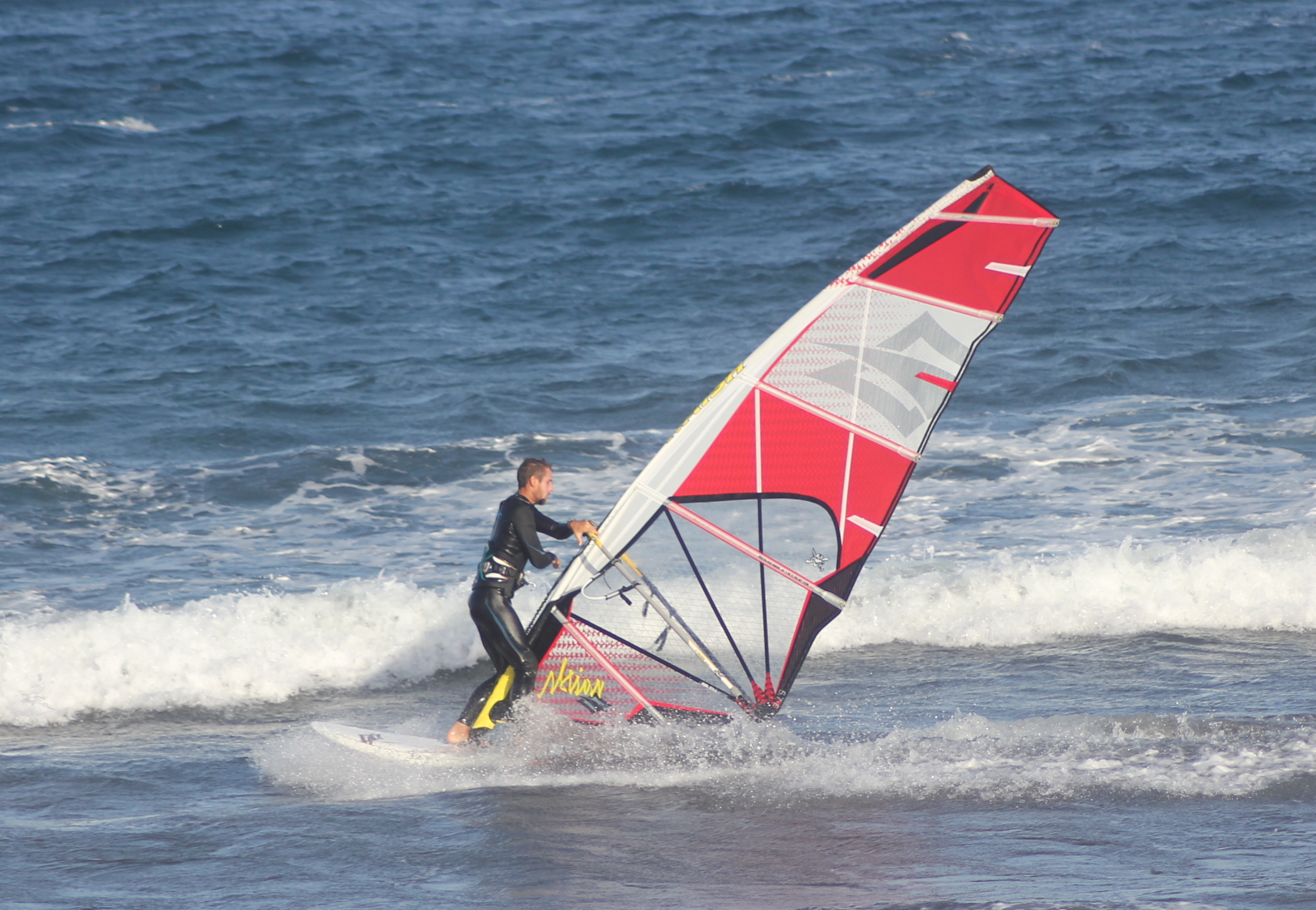 How to Windsurf – the Tack on a Sinker Board
