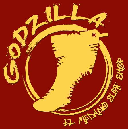 Godzilla Surf Shop logo