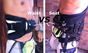 Waist Harness vs Seat Harness