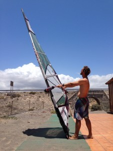 How to tune a windsurf sail