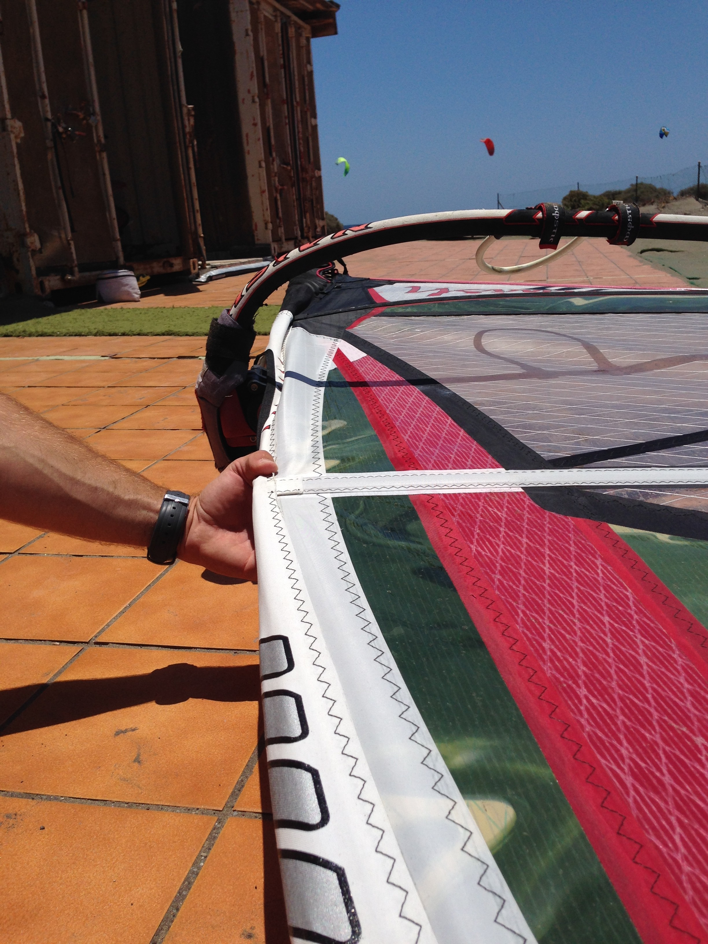 How to Tune a Windsurf Sail - How To Windsurf 101