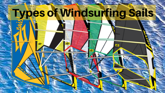 Types of Windsurfing Sails