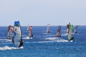 Windsurfing group