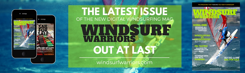 Windsurf Warriors New Issue