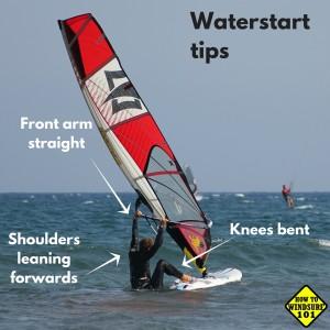 3 keys for waterstart